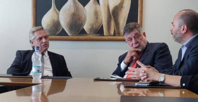 LA UNION INDUSTRIAL DEL CHACO SE REUNIÓ CON EL PRESIDENTE DE LA NACION ALBERTO FERNÁNDEZ